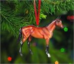 Breyer Horses Beautiful Breeds Thoroughbred Ornament #700516 Christmas Holiday