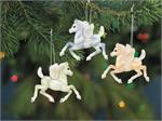 Breyer Horses 2014 Christmas/Holiday Angel Fillies Ornament #700671 Set of 3
