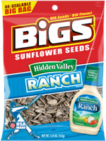 Bigs Hidden Valley Ranch Sunflower Seeds