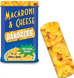 Accoutrements Mac & Cheese Bandages 15pk #12160