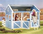 Breyer Horses Classics Size Country Stable with Wash Stall, #699