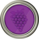 JarWare Mason Jar Grape Fruit Jam/Jelly Lid #82630