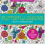 Adult level coloring book with butterfly, butterflies, flowers, insects, and relaxing patterns.