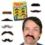 Accoutrements Felt Adhesive Mustaches for Boys #10484
