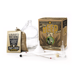The luck of the Irish will be with you through the home brewing process on this one! This beer brewing kit features our Bone Dry Irish Stout recipe, a dark and toasty brew with mild English hops and notes of coffee, chocolate, and toffee.