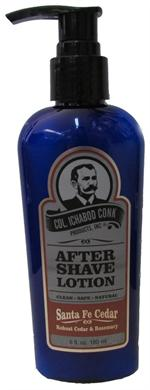 Colonel Conk's Natural After Shave Lotion is the third and final step to your perfect shave. A fine, long lasting lotion that goes on lightly and absorbs quickly.