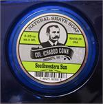 All natural shaving soap, with citrus scent. Made by Colonel Conk