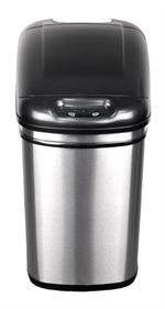 Nine Stars DZT-24-1 Infrared Touchless Automatic Motion Sensor Lid Open Trash Can, 6.3-Gallon