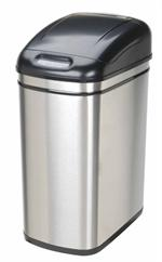 Nine Stars DZT-30-1 Infrared Touchless Stainless Steel Trash Can, 7.9-Gallon