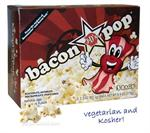 Bacon Flavored Microwave Popcorn - yum!!