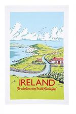 Ulster Weavers Kelly Hall Ireland Tea Towel #022KHI