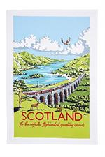 Ulster Weavers Kelly Hall Scotland Tea Towel #022KSC