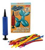 Learn how to make balloon shapes and figures with this easy to use model kit.
