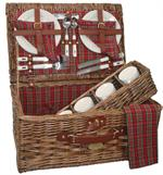 Sutherland Baskets Scottish Pasture Picnic Basket