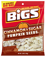 Bigs Cinnamon and Sugar Pumpkin Seeds