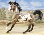 Breyer Horses Traditional Size Grullo Pinto #1703