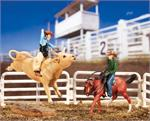 Breyer Horses Stablemates Size Collectibulls Rodeo Gift Set #5359