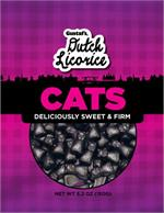Gustaf's Licorice Cats Katjes 5.2 ounce bag