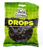 Gustaf's Soft Licorice Buttons (Licorice Drops) 5.2 ounce