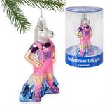 Accoutrements Lederhosen Unicorn Ornament #12422