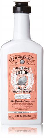 Keep your body's delicate skin soft with Watkin's Pomegranate and Acai Hand & Body Lotion. This rich, every-day formula contains ten essential oils and plant-derived extracts to give your skin deep, long-lasting moisture. A combination of shea & cocoa but