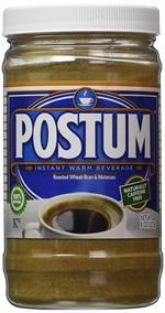 Fresh and brought back. Coffee substitute powder Postum. Like Pero but better tasting.