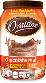 Classic Chocolate Malt Ovaltine 12 ounce Powder
