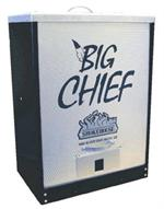 Big Chief Front Load Tuff Coat Black Smoker #9894-BLACK