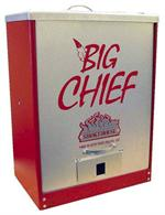 Big Chief Front Load Tuff Coat Red Smoker #9894-RED