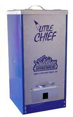 Little Chief Front Load Tuff Coat Blue Smoker #9900-BLUE
