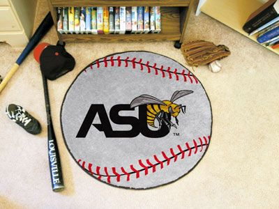 "Alabama State Baseball Rugs 29"" diameter"
