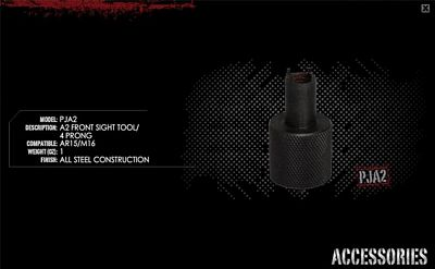 AR15/M16 A2 FRONT SIGHT TOOL-4 PRONG