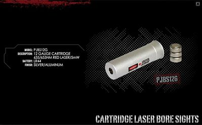 12 GAUGE LASER BORE SIGHTER
