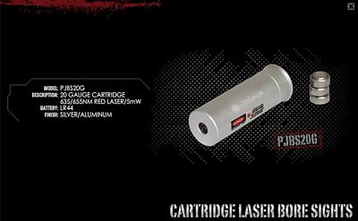 20 GAUGE LASER BORE SIGHTER