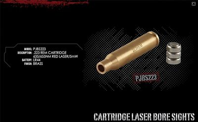 .223 REM LASER BORE SIGHTER
