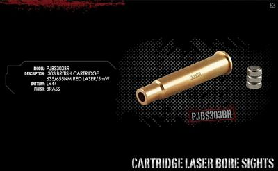 303 BRITISH (NATO 5.56) LASER BORE SIGHTER