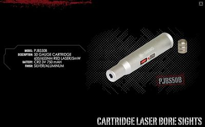 .50 CAL LASER BORE SIGHTER
