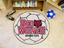 Arkansas State Soccer Ball Rug 29