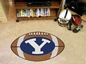Brigham Young Football Rug 22