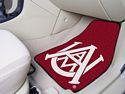 Alabama A&M 2-pc Printed Carpet Car Mats 18