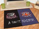 Alabama - Auburn House Divided Rugs 34
