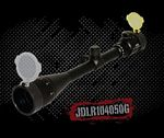 10-40X50 A.O.E. DUAL Illuminated RIFLE SCOPE W/RINGS