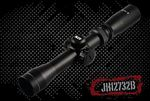 2-7X32 DUAL Illuminated LONG EYE RELIEF SCOPE W/RINGS