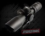2.5-10X40 DUAL Illuminated SCOPE W/CUT SUNSHADE/RANGEFINDER