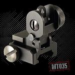 AR15/M16 A2 DUAL APERTURE REAR FLIP-UP SIGHT