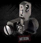 AR15/M16 SINGLE PLANE DUAL APERTURE REAR FLIP-UP SIGHT
