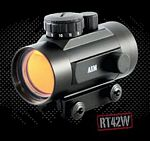 1X42 RED DOT SIGHT WEAVER BASE W/FLIP-UP LENS