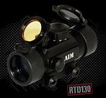1X30 DUAL Illuminated SIGHT 4 DIFFERENT RETICLES W/FLIP-UP LENS
