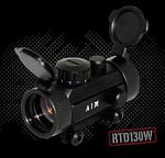 1X30 RED DOT SIGHT WEAVER BASE W/FLIP-UP LENS