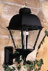 GL2000WM Aluminum Gas Light Head With Wall Mount